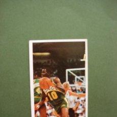 Coleccionismo deportivo: CROMOS BASKET 87 88 1987 1988 BALONCESTO MERCHANTE CONVERSE CROMO Nº 164 NATE MCMILLAN. Lote 47676209