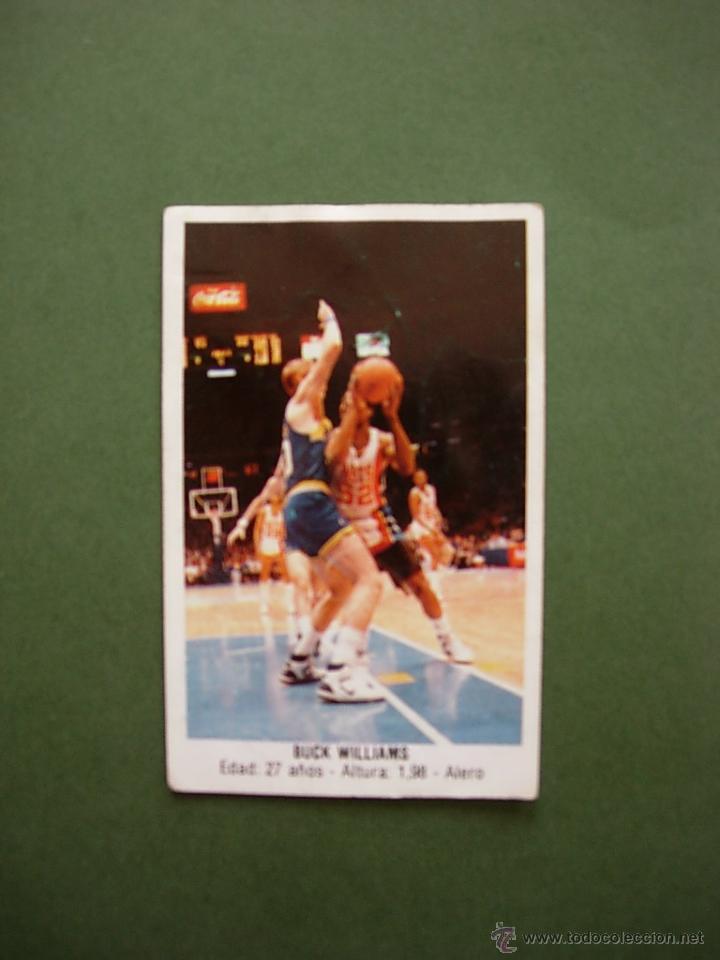 CROMOS BASKET 87 88 1987 1988 BALONCESTO MERCHANTE CONVERSE CROMO Nº 167 BUCK WILLIAMS (Coleccionismo Deportivo - Cromos otros Deportes)