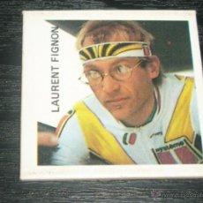 Coleccionismo deportivo: -CARD SPAIN 1989 , LAURENT FIGNON , CICLISMO -- VERY RARE --. Lote 177208934