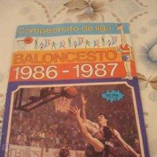 Coleccionismo deportivo: CROMO BALONCESTO 86/87 MERCHANTE. LEER. Lote 87169490