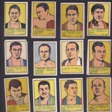 Coleccionismo deportivo: LOTE DE 16 CROMOS BOXEO EDITORIAL VALENCIANA 1941. Lote 49393618
