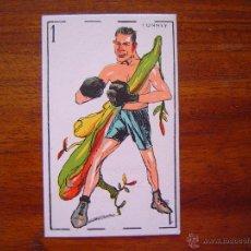 Coleccionismo deportivo: GENE TUNNEY ( U.S.A. - BOXEO ) - CROMO NAIPE RARÍSIMO - EXCELENTE CONSERVACIÓN - AÑOS 1920S. Lote 51074545