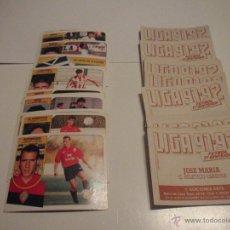 Coleccionismo deportivo: LOTE 47 CROMOS DE FÚTBOL 1991-92 ED. ESTE. DIFERENTES, SIN PEGAR Y BUEN ESTADO.. Lote 51480679
