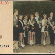 Coleccionismo deportivo: 8530- CROMO BRILLANTE CHOCOLATES BATANGA- CAMPEONATO DEL MUNDO DE PATINAJE ARTISTICO Y DANZA-1955. Lote 52538550
