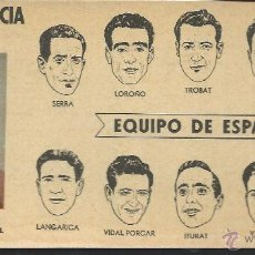 Coleccionismo deportivo: 8531- CROMO BRILLANTE CHOCOLATES BATANGA- VUELTA CICLISTA A FRANCIA 1953-EQUIPO DE ESPAÑA. Lote 52538735