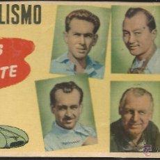 Coleccionismo deportivo: 8537- CROMO BRILLANTE CHOCOLATES BATANGA- AUTOMOVILISMO-ASES DEL VOLANTE. Lote 235126510