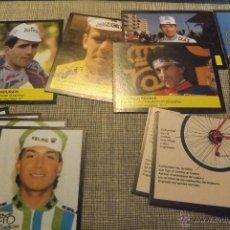Coleccionismo deportivo: 43 CROMOS NUEVOS SIN PEGAR - COLECCIÓN BICICLETAS EDITORIAL CUSCO. Lote 53789870