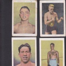 Coleccionismo deportivo: LOTE DE 8 CROMOS BOXEADORES CHOCOLATES AMATLLER. Lote 54352881