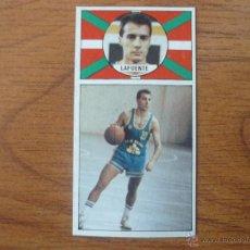 Coleccionismo deportivo: CROMO LIGA BALONCESTO 1986 1987 MERCHANTE Nº 11 LAFUENTE (CAJA BILBAO) - DESPEGADO 86 87 . Lote 54583484