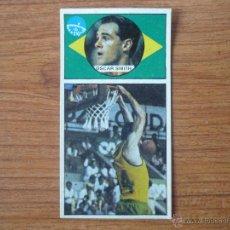 Coleccionismo deportivo: CROMO LIGA BALONCESTO 1986 1987 MERCHANTE Nº 143 OSCAR SCHMIDT BEZERRA (BRASIL) - DESPEGADO 86 87 . Lote 54590962