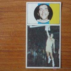 Coleccionismo deportivo: CROMO LIGA BALONCESTO 1986 1987 MERCHANTE Nº 86 JUAN MENDEZ (CANARIAS) - DESPEGADO 86 87 . Lote 54592913