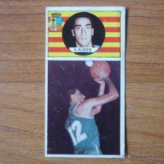 Coleccionismo deportivo: CROMO LIGA BALONCESTO 1986 1987 MERCHANTE Nº 116 ALBERTO ALOCEN (MAGIA HUESCA) - DESPEGADO 86 87. Lote 207202023