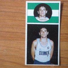 Coleccionismo deportivo: CROMO LIGA BALONCESTO 1986 1987 MERCHANTE Nº 134 RODRIGUEZ (OXIMESA) - DESPEGADO 86 87. Lote 54595143