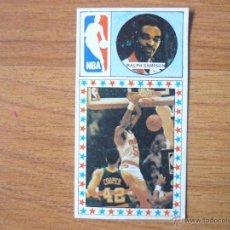 Coleccionismo deportivo: CROMO LIGA BALONCESTO 1986 1987 MERCHANTE Nº 174 RALPH SAMPSON (HOUSTON ROCKETS) NBA DESPEGADO 86 87. Lote 54700744