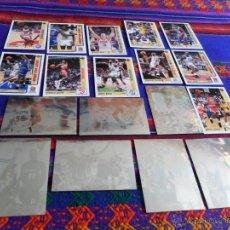 Coleccionismo deportivo: UPPER DECK NBA 1991 7 HOLOGRAMA 153 CARD MICHAEL JORDAN MAGIC JOHNSON DAVID ROBINSON AMPLIADO 2-5-18. Lote 54874778