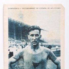 Coleccionismo deportivo: CROMO CAMPEONES Y RECORDMANS DE ESPAÑA DE ATLETISMO -JUAN RUIZ- Nº 4. Lote 55360614