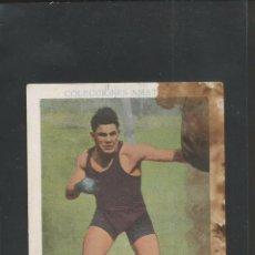 Coleccionismo deportivo: CROMO BOXEO - 20 - PAULINO UZCUDUN - CHOCOLATES AMATLLER -MIDE 7,5 X10,5 CM.(V-5203). Lote 56205521