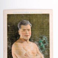 Coleccionismo deportivo: CROMO DE BOXEO HERMINIO SPALLA CHOCOLATE AMATLLER. Lote 56205903