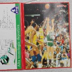 Coleccionismo deportivo: PEGATINA GIGANTES DEL BASKET NUMERO 5 LARRY BIRD . Lote 56525695