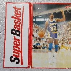 Coleccionismo deportivo: PEGATINA GIGANTES DEL BASKET NUMERO 8 MAGIC JOHNSON. Lote 56525751