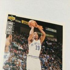 Coleccionismo deportivo: 19 TONY CAMPBELL UPPER DECK COLLECTORS CHOICE TEMPORADA 1994/1995. Lote 56824229