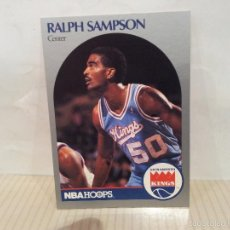 Coleccionismo deportivo: CROMO NBA HOOPS 261 RALPH SAMPSON AÑO 1990 NUEVO. Lote 57085637