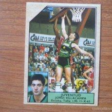 Coleccionismo deportivo: CROMO CONVERSE BALONCESTO 1988 89 Nº 101 JORDI VILLACAMPA (JOVENTUT BADALONA) - BASKET 1988 89. Lote 210224947