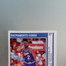 Coleccionismo deportivo: NBA TEMPORADA 1992 SACRAMENTO KINGS - RORY SPARROW Nº 37. Lote 57884100