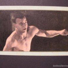 Coleccionismo deportivo: RICARDO ALIS -NOTABILIDADES DEL BOXEO-NUM.3 -CHOCOLATES JUNCOSA -MIDE 8X13 CM.-VER FOTOS-(V-6340). Lote 57997381
