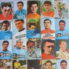 Coleccionismo deportivo: LOTE 25 CROMOS CICLISTAS 1968 ED. LAIDA SIN PEGAR. Lote 58083118
