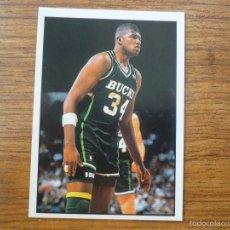 Coleccionismo deportivo: CROMO ALBUM PANINI BASKET NBA 91 Nº 92 GREG ANDERSON (MILWAUKEE BUCKS) BALONCESTO 1991 SIN PEGAR. Lote 58302571
