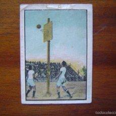 Coleccionismo deportivo: BALONCESTO / BASKET / BASKETBALL - PRIMER CROMO CONOCIDO DE ESPAÑA - AÑOS 20. Lote 59629852