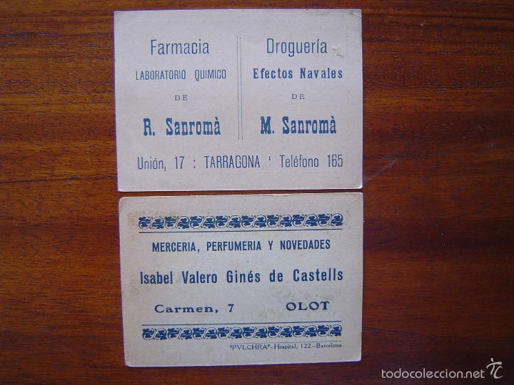 Coleccionismo deportivo: 2 cromos de Chocolate de Carreras de automóviles en el Autódromo de Sitges ( Barcelona )- Años 20 - Foto 2 - 59630111