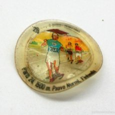 Coleccionismo deportivo: CROMO DE PLÁSTICO CHAPA DE COCA COLA - MONTREAL 1976 - HISTORIA DE LOS JUEGOS OLÍMPICOS. Lote 60956871
