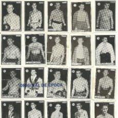 Coleccionismo deportivo: (F-161017)CROMOS BOXEO Y LUCHA,AÑOS 50-60,TAMBIEN SUELTOS. Lote 62071904