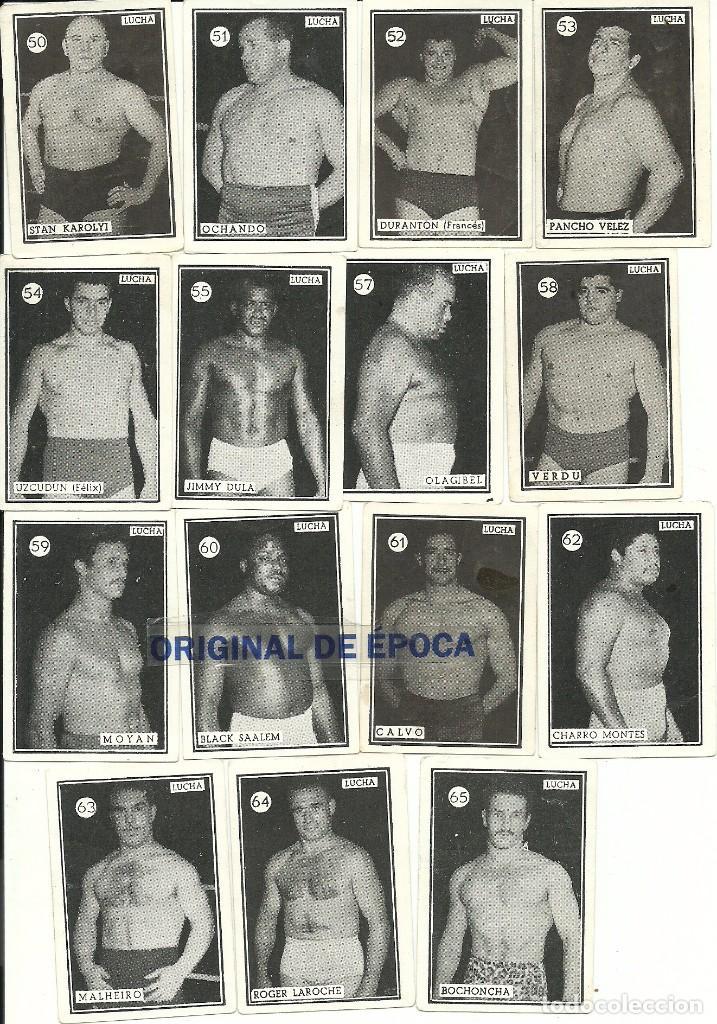 Coleccionismo deportivo: (F-161017)CROMOS BOXEO Y LUCHA,AÑOS 50-60,TAMBIEN SUELTOS - Foto 3 - 62071904