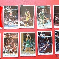 Coleccionismo deportivo: CROMOS STICKER NBA JORDAN(VENDIDO) BIRD MAGIC EWING WILKINS GIGANTES DEL BASKET CONVERSE AÑOS 80. Lote 55718302
