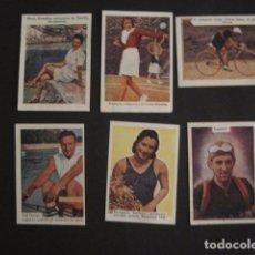 Coleccionismo deportivo: LOTE 6 CROMOS DEPORTES - VER FOTOS - (V-7429). Lote 66439278