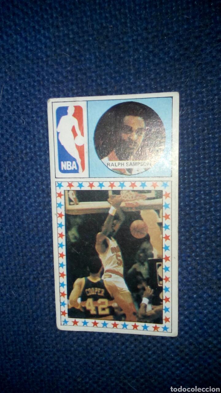 CROMO RALPH SAMPSON 174 HOUSTON NBA CONVERSE (Coleccionismo Deportivo - Cromos otros Deportes)