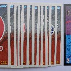 Coleccionismo deportivo: FLEER - NBA - 94-95 - PANINI - CROMOS: 254, 255, 256, 258, 266 Y 269. Lote 70567073