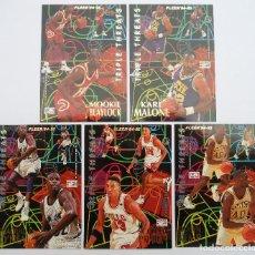 Coleccionismo deportivo: FLEER - NBA - 94-95 - PANINI - CROMOS: TRIPLE THREADS. Lote 70567573