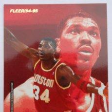 Coleccionismo deportivo: FLEER - NBA - 94-95 - PANINI - CAREER ACHIEVEMENT AWARDS - CROMO: OLAJUWON Y PIPPEN. Lote 70569009