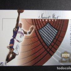 Coleccionismo deportivo: STEPHON MARBURY #SM-J JERSEY CAMISETA NBA SWEET SHOTS ROOKIE UPPER DECK 2002 2003 NUEVO. Lote 71823079