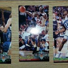 Coleccionismo deportivo: LOTE DE 3 CROMOS NBA JAM SESSION 93-94. KENNY GATTISON, HORACE GRANT Y SHERMAN DOUGLAS. Lote 72787259