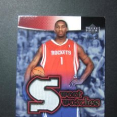 Coleccionismo deportivo: TRACY MCGRADY JERSEY CAMISETA SWEET SWATCHES 2004 05 UPPER DECK CROMO TRADING CARD NBA. Lote 73053115