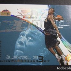 Coleccionismo deportivo: VINCENT YARBROUGH 2249/2999 SPX 2002 03 ROOKIE UPPER DECK NBA BASKETBALL CARD. Lote 74028203
