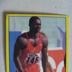 Coleccionismo deportivo: PEGATINA DE SUPERSPORT DE PANINI , 1988 : Nª 60 , BEN JOHNSON . ATLETISMO. Lote 74162607