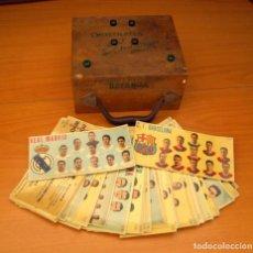 Coleccionismo deportivo: CHOCOLATES BATANGA - COLECCIÓN COMPLETA 66 FICHAS - VER FOTOS INTERIORES. Lote 75383911