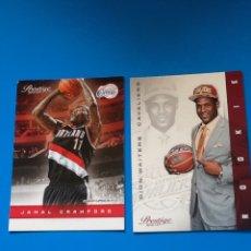 Coleccionismo deportivo: LOTE 2 CARTAS NBA PANINI USA PRESTIGE 2012-13 LOS ÁNGELES CLIPPERS Y CLEVELAND CAVALIERS. Lote 75882599