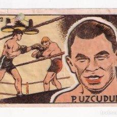 Coleccionismo deportivo: PAULINO UZCUDUN, BOXEO, CROMOS CULTURA BRUGUERA 1942. Lote 79987881